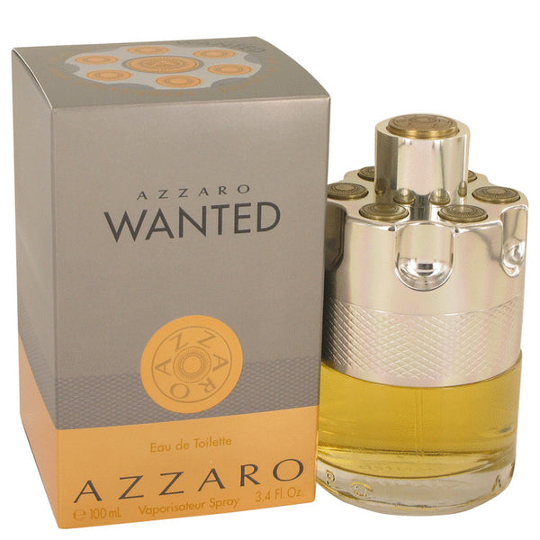 Eau De Toilette Spray 3.4 oz, Azzaro Wanted by Azzaro