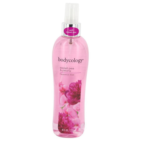 Bodycology Sweet Pea & Peony by Bodycology for Women. Fragrance Mist 8 oz