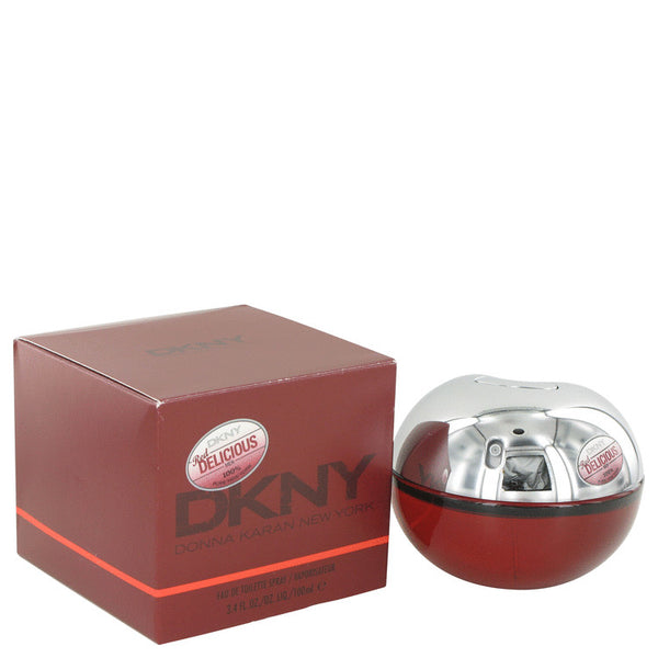 Eau De Toilette Spray 3.4 oz, Red Delicious by Donna Karan