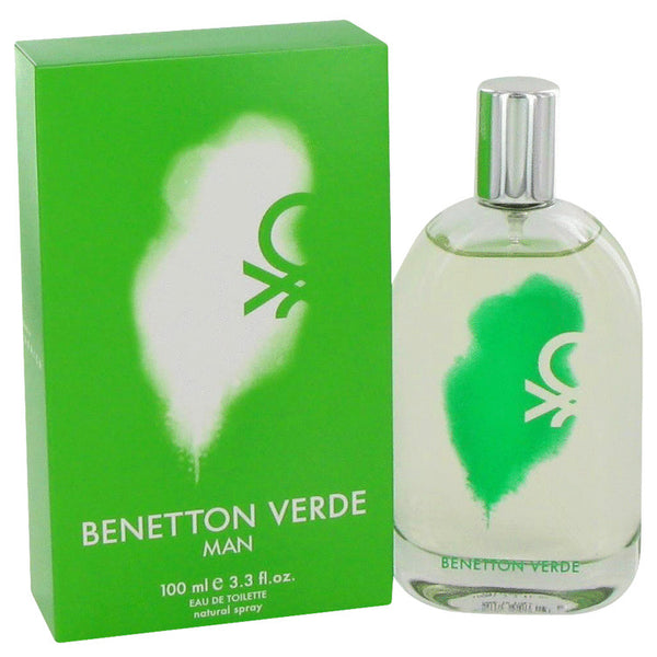 Eau De Toilette Spray 3.3 oz, Benetton Verde by Benetton