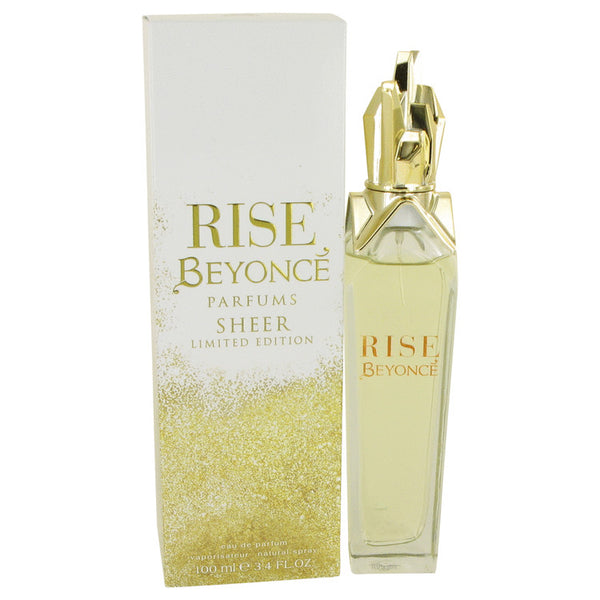 Eau De Parfum Spray 3.4 oz, Beyonce Rise Sheer by Beyonce
