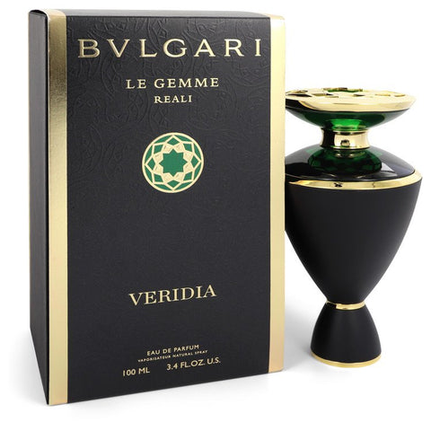 Bvlgari Le Gemme Reali Veridia by Bvlgari for Women. Eau De Parfum Spray 3.4 oz