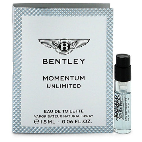 Bentley Momentum Unlimited by Bentley for Men. Vial (Sample) 0.06 oz