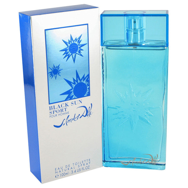 Eau De Toilette Spray 3.4 oz, Black Sun Sport by Salvador Dali