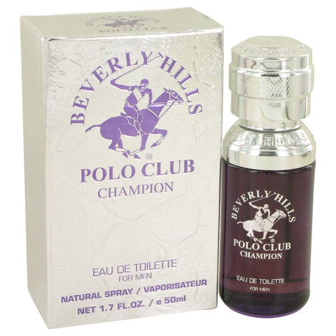 Eau De Toilette Spray 1.7 oz, Beverly Hills Polo Club Champion by Beverly Fragrances