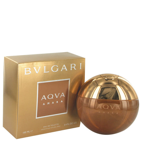 Eau De Toilette Spray 3.3 oz, Bvlgari Aqua Amara by Bvlgari