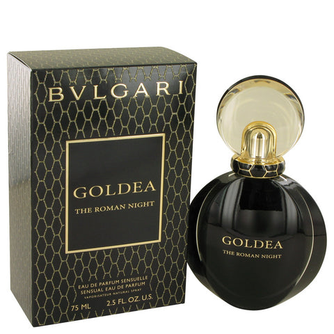 Eau De Parfum Spray 2.5 oz, Bvlgari Goldea The Roman Night by Bvlgari