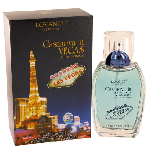 Eau De Toilette Spray 3.4 oz, Casanova in Vegas by Lovance