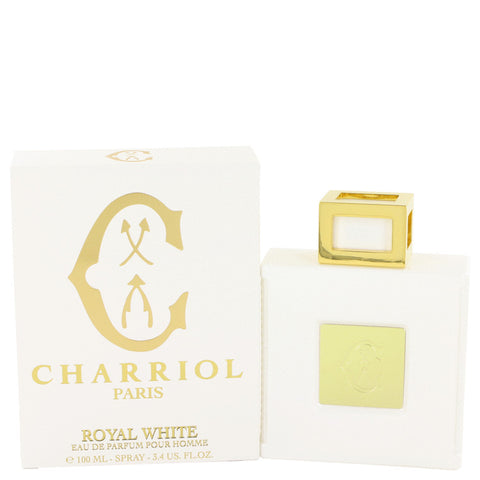 Eau De Parfum Spray 3.4 oz, Charriol Royal White by Charriol