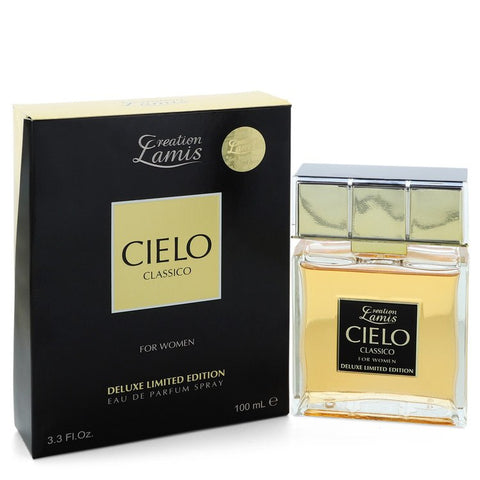 Eau De Parfum Spray Deluxe Limited Edition 3.3 oz, Cielo Classico by Lamis