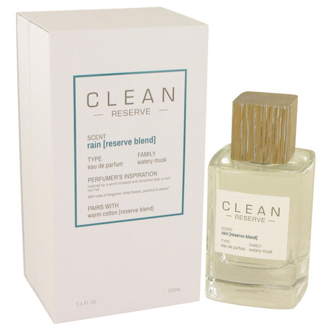 Eau De Parfum Spray 3.4 oz, Clean Rain Reserve Blend by Clean