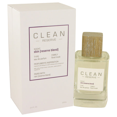 Eau De Parfum Spray 3.4 oz, Clean Skin Reserve Blend by Clean