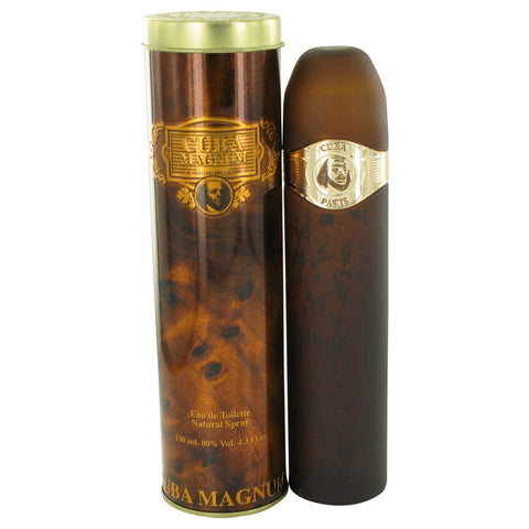 Cuba Magnum Gold by Fragluxe for Men. Eau De Toilette Spray 4.2 oz
