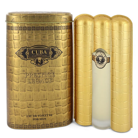 Cuba Prestige Legacy by Cuba for Men. Eau De Toilette Spray 3 oz