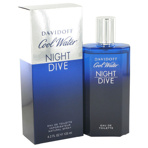 Eau De Toilette Spray 4.2 oz, Cool Water Night Dive by Davidoff