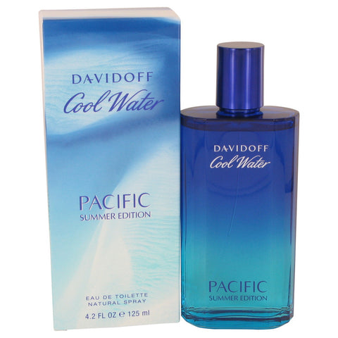 Eau De Toilette Spray 4.2 oz, Cool Water Pacific Summer by Davidoff