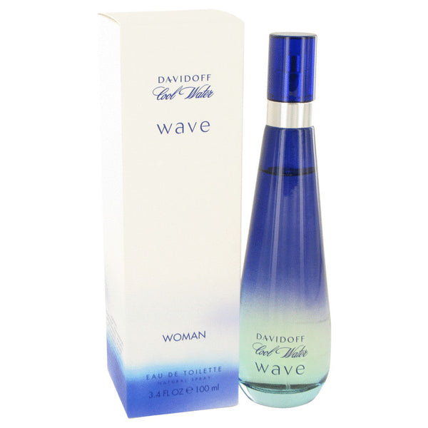 Eau De Toilette Spray 3.4 oz, Cool Water Wave by Davidoff