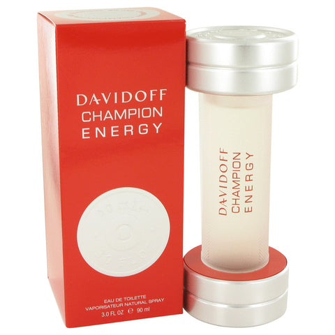Eau De Toilette Spray 3 oz, Davidoff Champion Energy by Davidoff