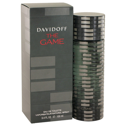 Eau De Toilette Spray 3.4 oz, The Game by Davidoff