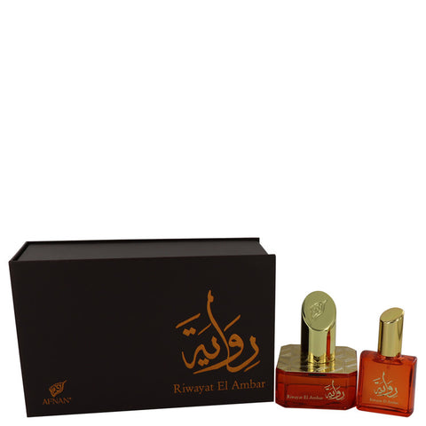 Eau De Parfum Spray + Free .67 oz Travel EDP Spray 1.7 oz, Riwayat El Ambar by Afnan