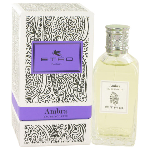 Eau De Toilette Spray (Unisex) 3.3 oz, Ambra by Etro