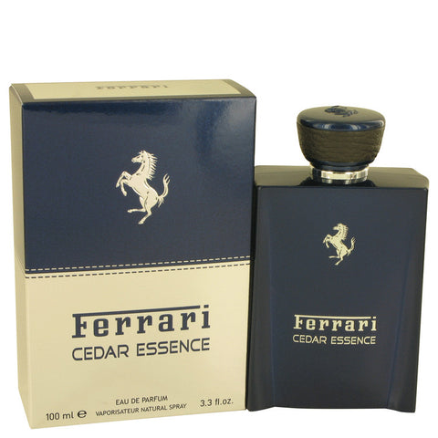 Eau De Parfum Spray 3.3 oz, Ferrari Cedar Essence by Ferrari