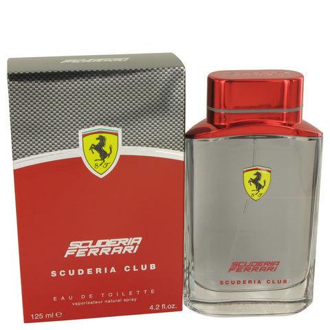 Eau De Toilette Spray 4.2 oz, Ferrari Scuderia Club by Ferrari