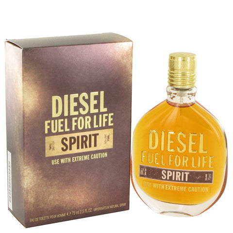 Eau De Toilette Spray 2.5 oz, Fuel For Life Spirit by Diesel