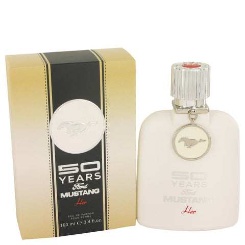 Eau De Parfum Spray 3.4 oz, 50 Years Ford Mustang by Ford