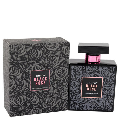 Eau De Parfum Spray 3.38 oz, Firetrap Black Rose by Firetrap