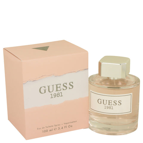 Eau De Toilette Spray 3.4 oz, Guess 1981 by Guess