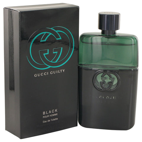 Eau De Toilette Spray 3 oz, Gucci Guilty Black by Gucci