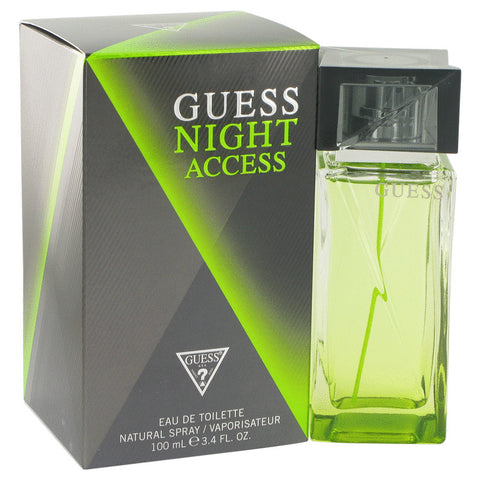 Eau De Toilette Spray 3.4 oz, Guess Night Access by Guess