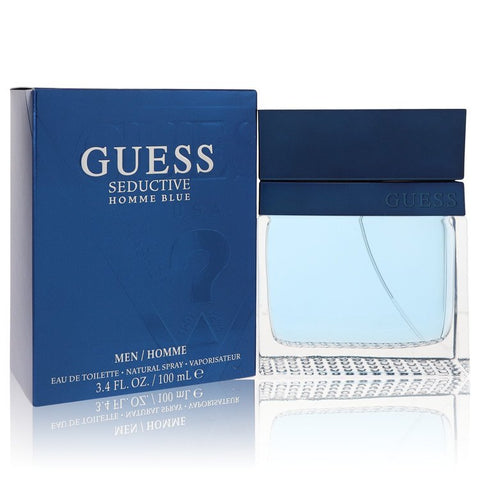 Eau De Toilette Spray 3.4 oz, Guess Seductive Homme Blue by Guess