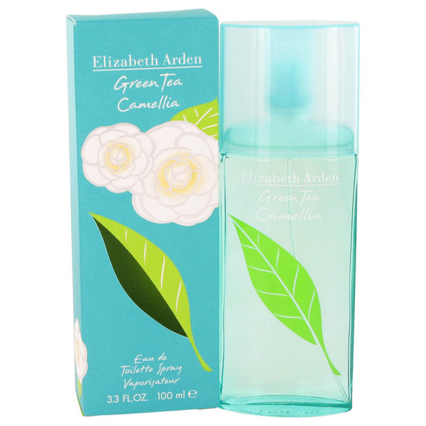 Eau De Toilette Spray 3.3 oz, Green Tea Camellia by Elizabeth Arden