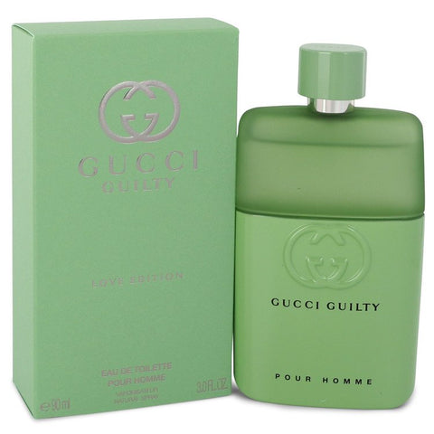 Gucci Guilty Love Edition by Gucci for Men. Eau De Toilette Spray 3 oz
