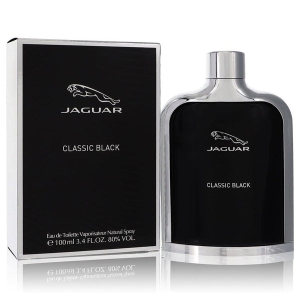 Eau De Toilette Spray 3.4 oz, Jaguar Classic Black by Jaguar