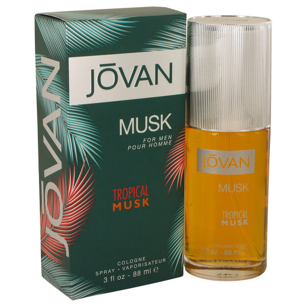 Cologne Spray 3 oz, Jovan Tropical Musk by Jovan