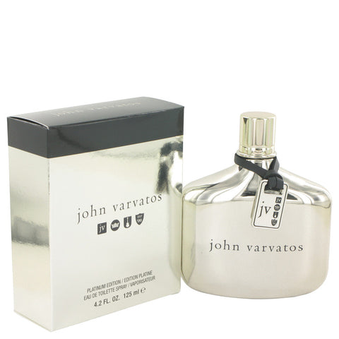 Eau De Toilette Spray 4.2 oz, John Varvatos Platinum by John Varvatos