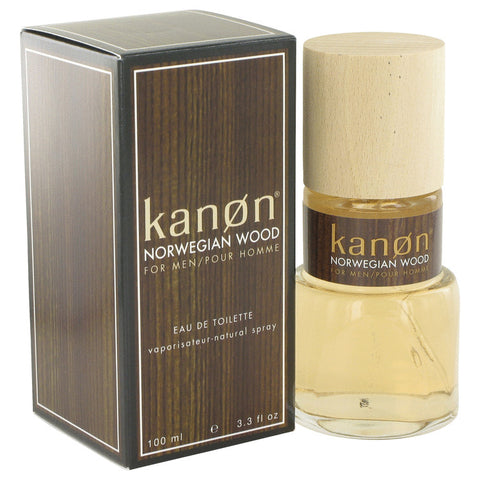 Eau De Toilette Spray 3.3 oz, Kanon Norwegian Wood by Kanon