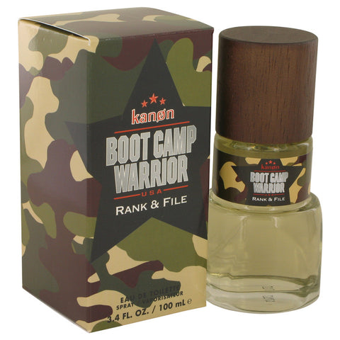 Eau De Toilette Spray 3.4 oz, Kanon Boot Camp Warrior Rank & File by Kanon