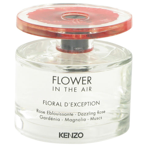 Eau De Parfum Spray (Tester) 3.4 oz, Kenzo Flower In The Air Floral D`exception by Kenzo