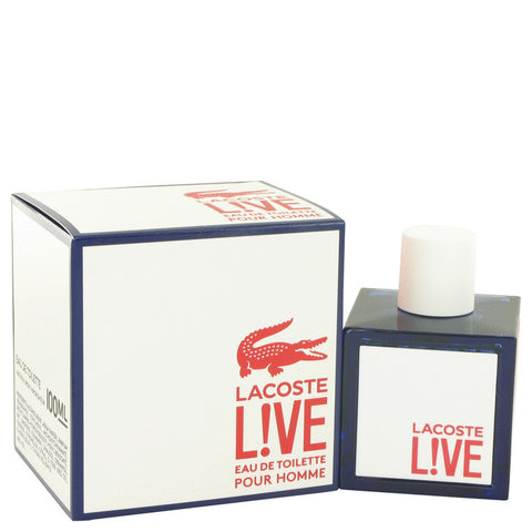 Eau De Toilette Spray 3.4 oz, Lacoste Live by Lacoste