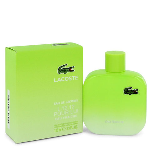 Lacoste Eau De Lacoste L.12.12 Pour Lui by Lacoste for Men. Eau De Toilette Spray 3.3 oz