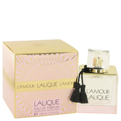 Eau De Parfum Spray 3.3 oz, Lalique L`amour by Lalique