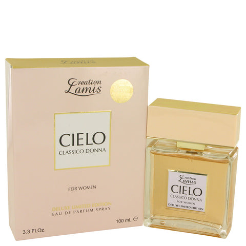 Eau De Parfum Spray Deluxe Limited Edition 3.3 oz, Lamis Cielo Classico Donna by Lamis