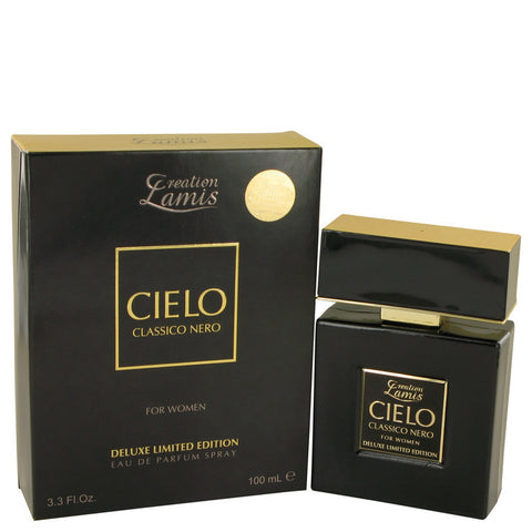 Eau De Parfum Spray Deluxe Limited Edition 3.3 oz, Lamis Cielo Classico Nero by Lamis