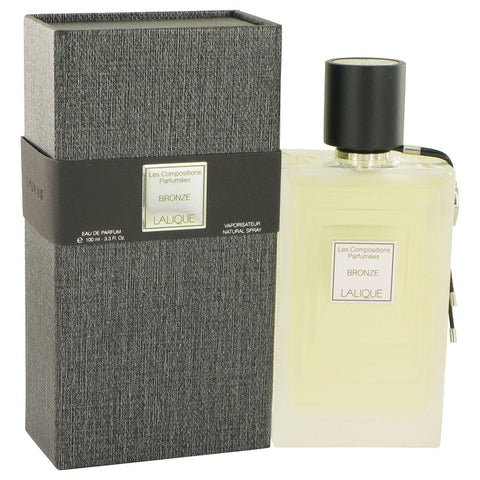 Eau De Parfum Spray 3.3 oz, Les Compositions Parfumees Bronze by Lalique
