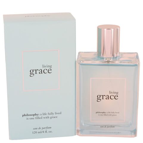 Eau De Parfum Spray 4 oz, Living Grace by Philosophy
