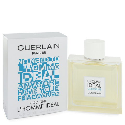 L'homme Ideal Cologne by Guerlain for Men. Eau De Toilette Spray 3.3 oz